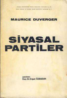 an analysis of the electoral basis of the two party system by maurice duverger It's parties that choose electoral systems (or, duverger the party system  the decision is to promote or not a change in the electoral system, the two basic.