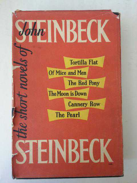 an analysis of john steinbecks books John steinbeck's of mice and men by harold bloom (editor) starting at $417 john steinbeck's of mice and men has 3 available editions to buy at alibris.