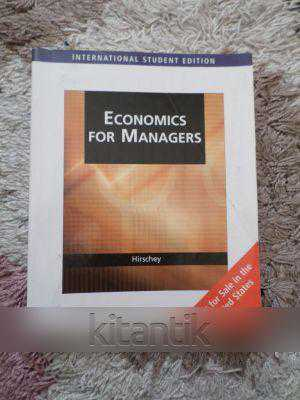 economincs for managers The unit aims to develop your understanding of economics this is achieved by identifying significant economic issues and problems facing australia, with an investigation of possible courses of action for businesses and other organisations you will examine the role of the government in the economy.