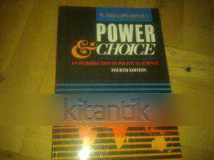 an analysis of power and choice a book by w phillips shively W phillips shively has 11 books on goodreads with 545 ratings w phillips shively's most popular book is power & choice: an introduction to political s.