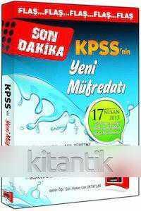 Son Dakika KPSS'nin Yeni Müfredatı