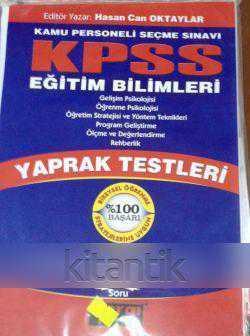 KPSS EĞİTİM BİLİMLERİ YAPRAK TEST