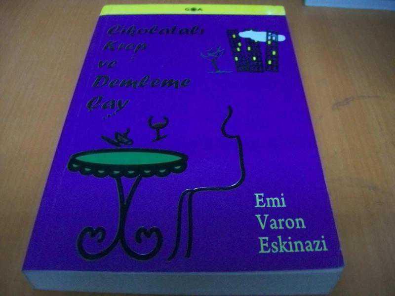 Çikolatalı krep ve demleme çay Emi Varon Eskinazi 54