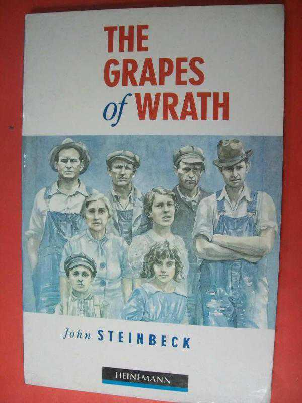 describing the dust bowl in john steinbecks the grapes of wrath In 1939, steinbeck published the grapes of wrath the book traces the odyssey of the joad family, a clan of dust bowl sharecroppers who migrate to california after they are kicked off their oklahoma farm.