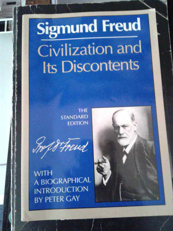 civilization and its discontents by freud Civilization and its discontents study guide contains a biography of sigmund freud, literature essays, quiz questions, major themes, character descriptions, and a full summary and analysis.