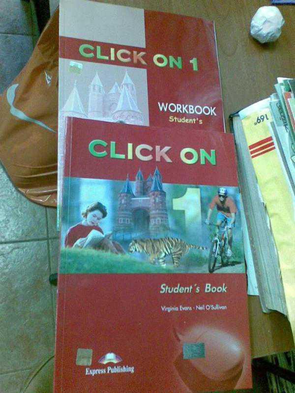Click On 1 Students Book Решебник