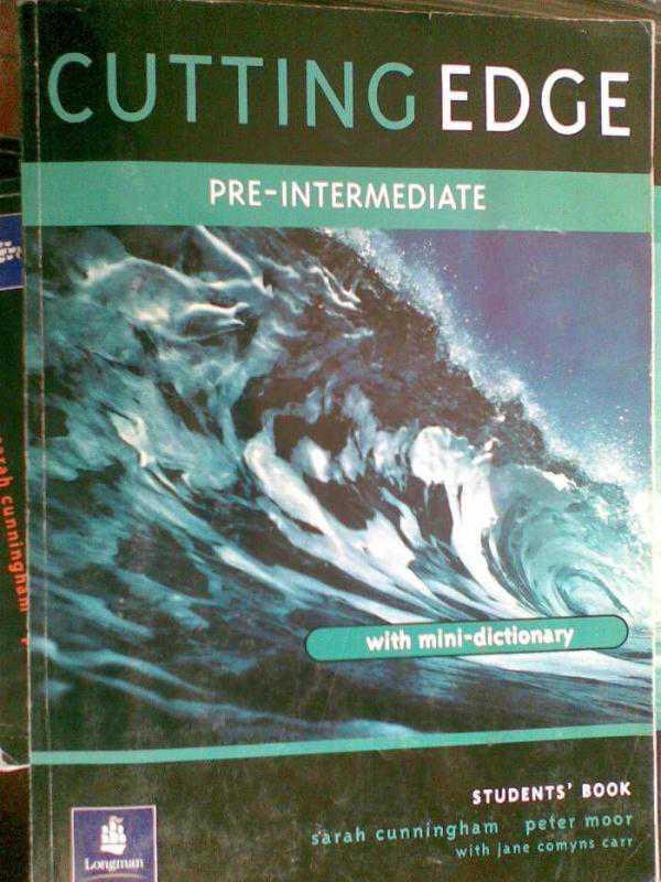 Английский cutting edge pre-intermediate гдз