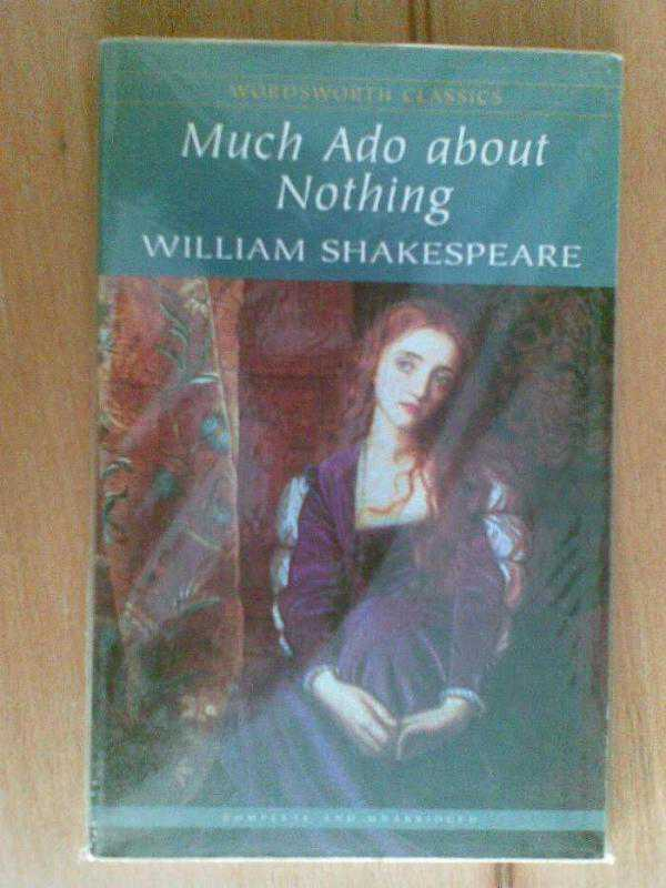 a comprehensive analysis of much ado about nothing by william shakespeare Much ado about nothing  the taming of the shrew by william shakespeare (2) the tempest (33)  a comprehensive quiz,.