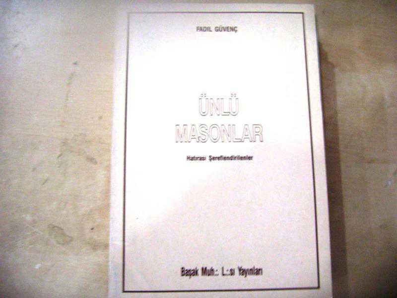 ünlü Masonlar Fadıl Güvenç Mason I69 Ikinci El Kitap Kitantik