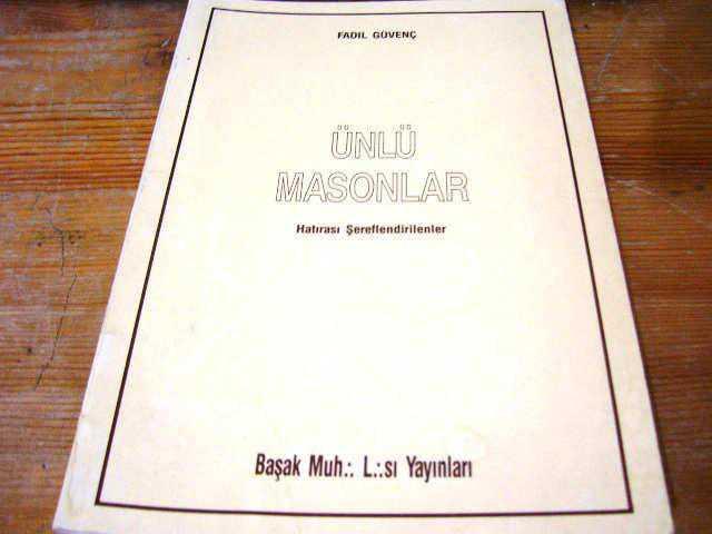 ünlü Masonlar Fadıl Güvenç Mason M9 Ikinci El Kitap Kitantik