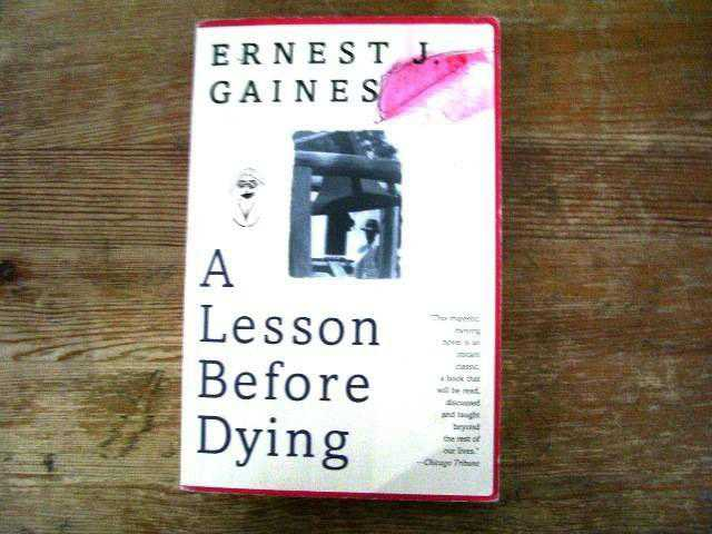 a comprehensive analysis of a lesson before dying by ernest gaines Pictorial timeline of ernest j gaines the south before civil rights literary and historical background:  following a lesson before dying takes place in the 1940s, before the civil rights movement that sought equality for african-americans  plessy vs ferguson.