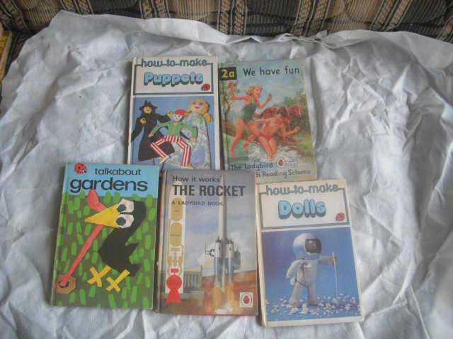 ingilizce cocuk kitaplari 5 adet nostalji