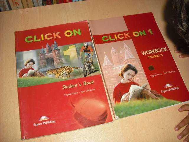 book решебник on click 1 students