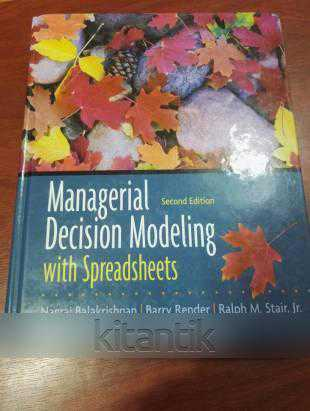 chapter1 exercise for managerial decision modeling essay Part i theories of leadership and management  and development exercises to help you understand theories and apply them in  a decision 8 chapter 1:.