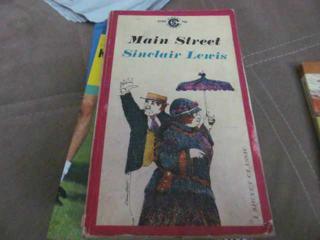 main street by sinclair lewis english literature essay Main street: biography: sinclair lewis, free study guides and book notes including comprehensive chapter analysis, complete summary analysis, author biography information, character profiles, theme analysis, metaphor analysis, and top ten quotes on classic literature.