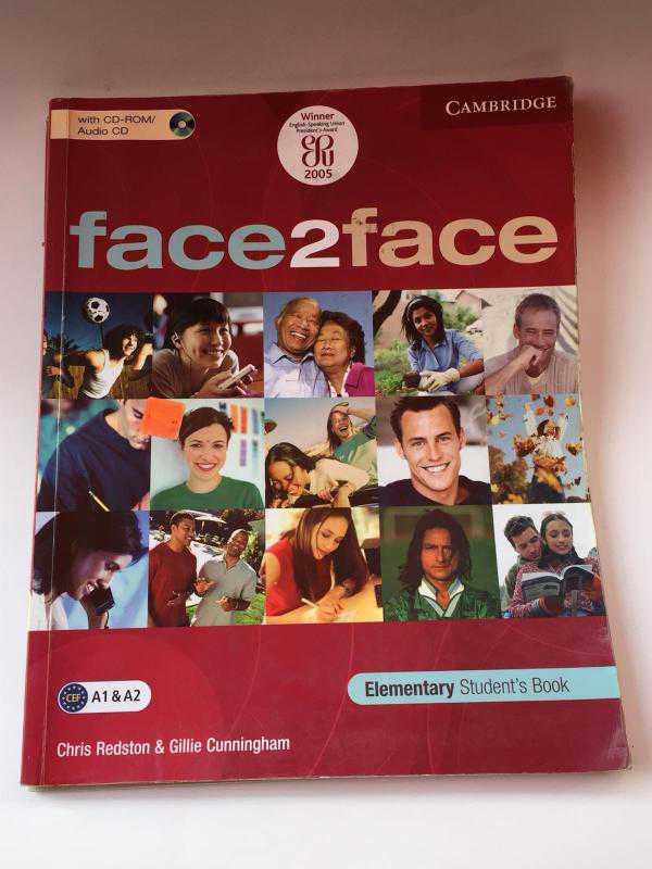 elementary book s решебник student face2face