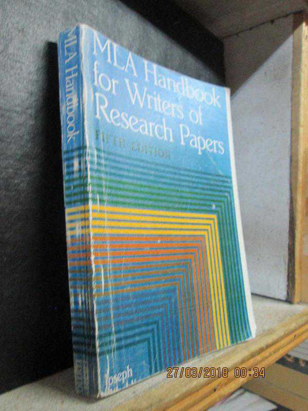 mla handbook for writers of research papers gibaldi 7th edition Mla handbook for writers of research papers by joseph gibaldi mla staff note: this is the older seventh edition copies are available in the reference collection at both irwin and the science library.