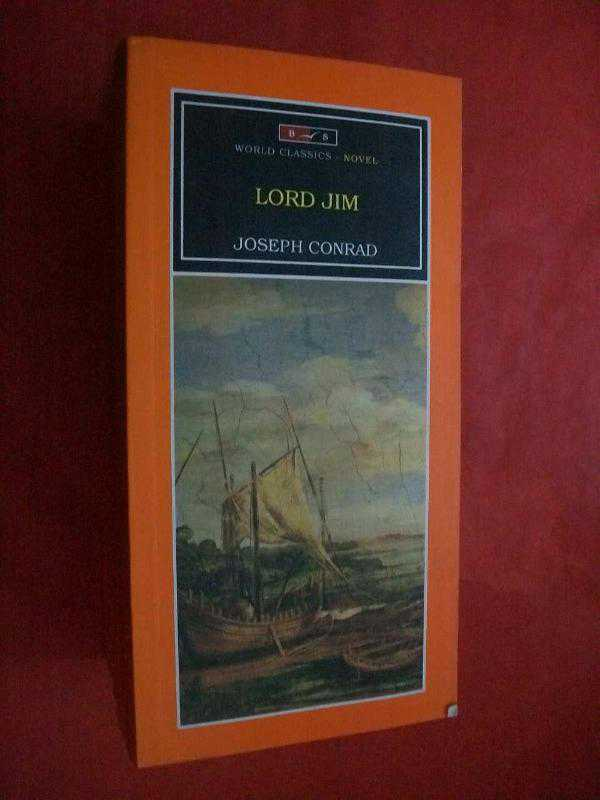 a review of joseph conrads book lord jim Lord jim tells the story of a young, idealistic englishman--as unflinching as a hero in a book--who is disgraced by a single act of cowardice while serving as an officer on the patna, a merchant-ship sailing from an eastern port his life is ruined: an isolated scandal has assumed horrifying proportions.