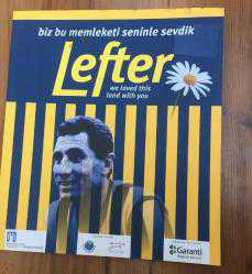 Biz Bu Memleketi Seninle Sevdik Lefter-We Loved This Land With You