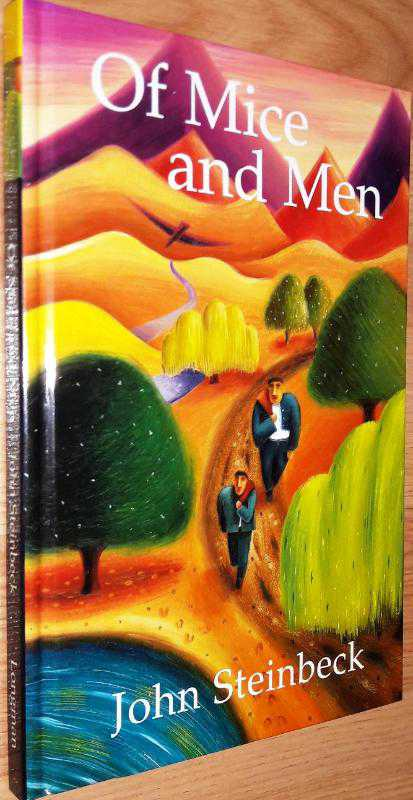 imagery in the novel of mice and men by john steinbeck The novel of mice and men by john steinbeck is chock full of lush images or settings and people the way the pond at the beginning of the story is described as if its.