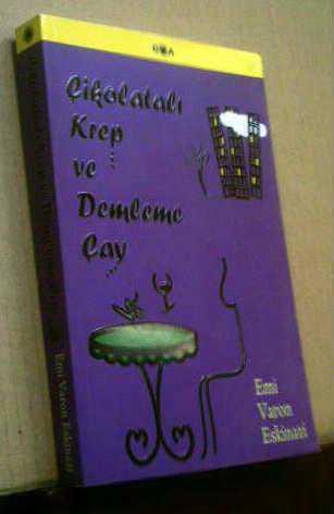 Çikolatalı krep ve demleme çay Emi Varon Eskinazi 77