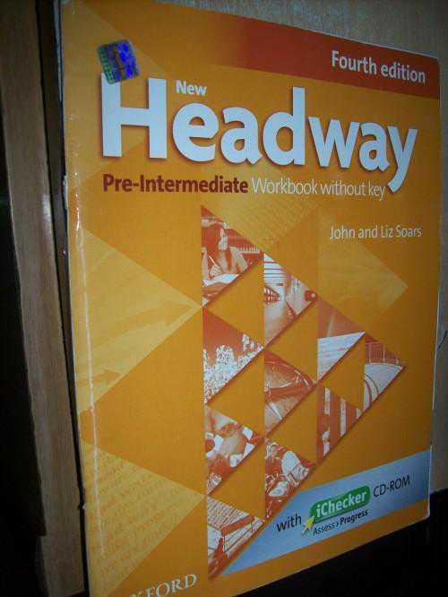 new workbook гдз headway pre