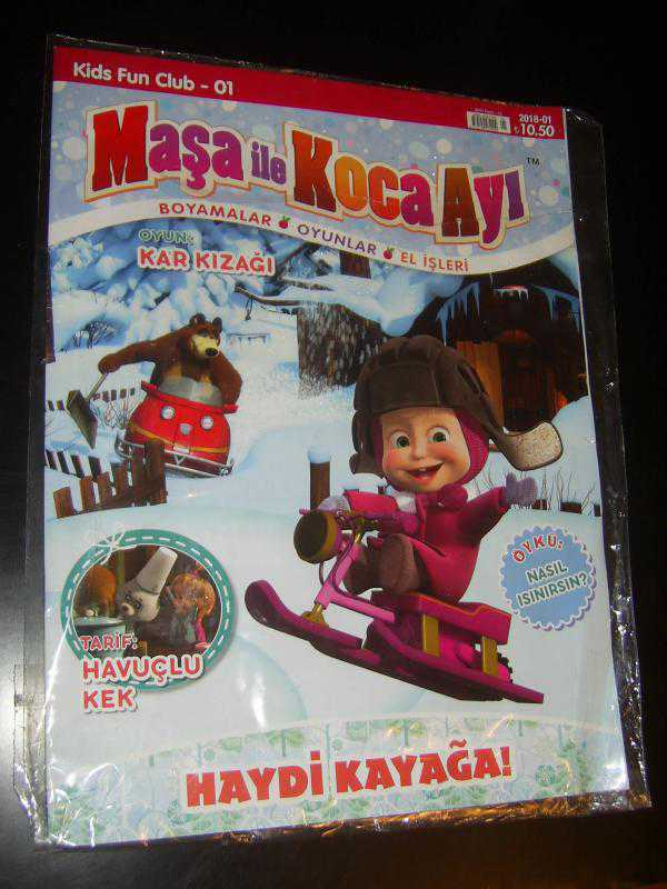 Maşa Ile Koca Ayi Kids Fun Club 01 2018 01 Oyunkar Kizaği
