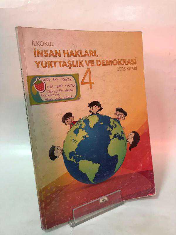 Ilkokul Insan Hakları Yurttaşlık Ve Demokrasi Ders Kitabı 4 Sınıf