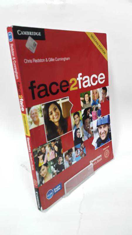 elementary book to students решебник face face