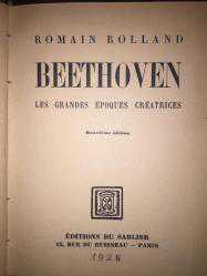 Beethoven. Les Grandes Epoques Creatrices