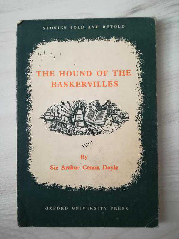 an analysis of the book hound of the baskervilles by sir arthur conan doyle The hound of the baskervilles by sir arthur conan doyle and a great selection of similar used, new and collectible books available now at abebookscom.
