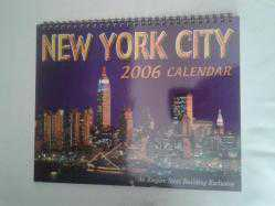 NEW YORK CITY 2006 CALENDAR TAKVİM * ürün İKİNCİEL DİR