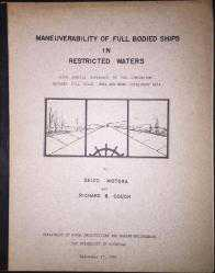 Maneuverability Of Full Bodied Ships In Restricted Waters