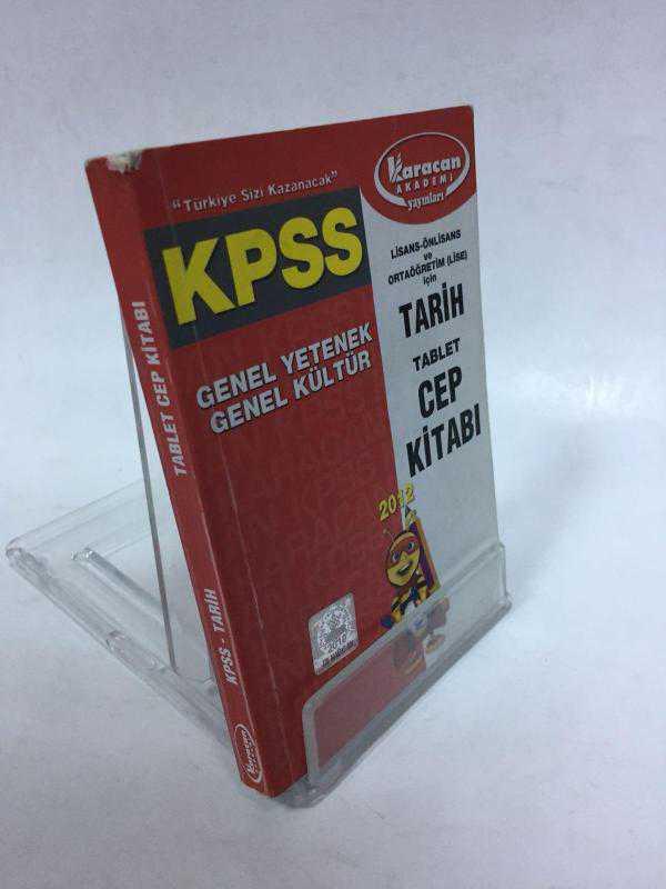 Karacan Akademi Yayınları Kpss Tarih Cep Kitabı 2 El Komisyon