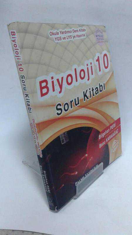 Palme Yayıncılık 10 Sınıf Biyoloji Soru Kitabı 2 El Komisyon