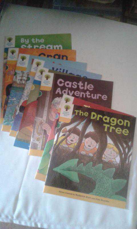 oxford reading tree 8 kitap ilkokul icin ingilizce hikaye kitap ikinciel dir yazisi az