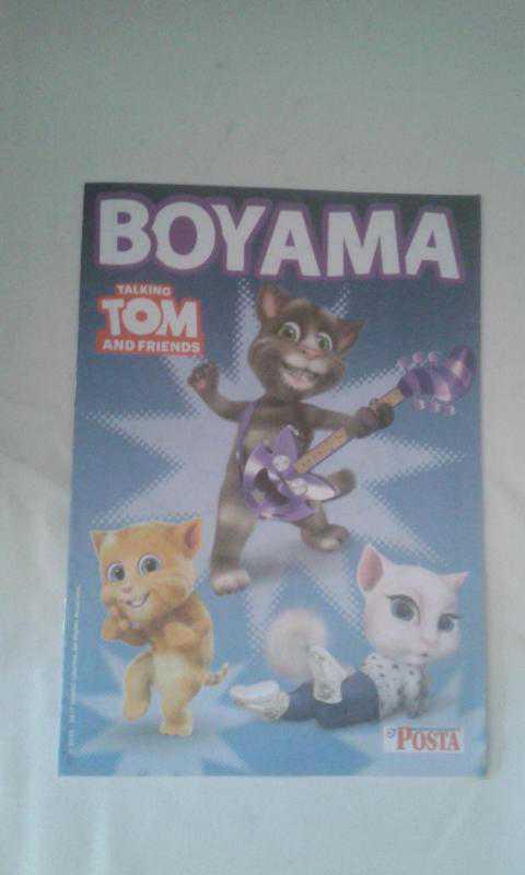 Boyama Talking Tom And Friends 15 Sayfa Posta Hediyesi Ikinci El