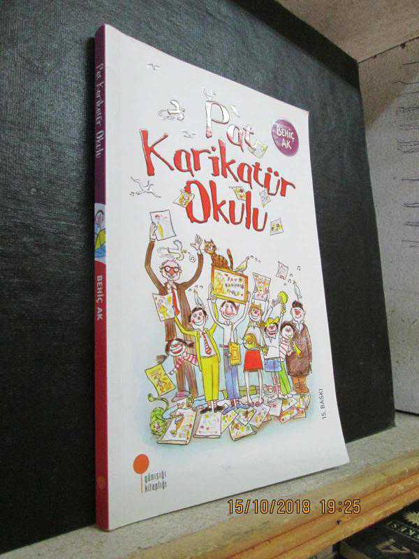 Pat Karikatür Okulu Behiç Ak Ikinci El Kitap Kitantik
