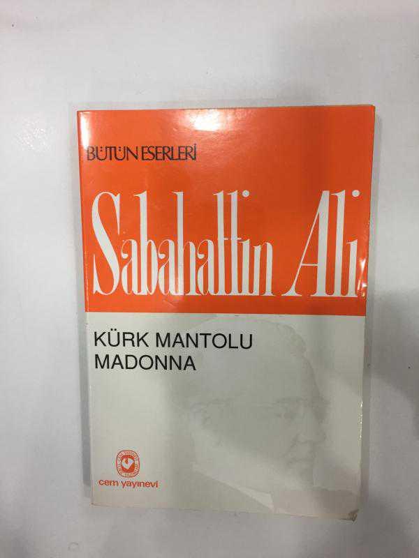 Mezat Kürk Mantolu Madonna Sabahattin Ali Ikinci El Kitap