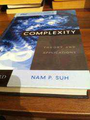 COMPLEXITY (THEORY AND APPLICATIONS) - NAM P.SUH+