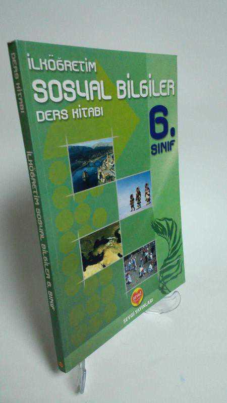 Sevgi Yayınları 6 Sınıf Sosyal Bilgiler Ders Kitabı 2el
