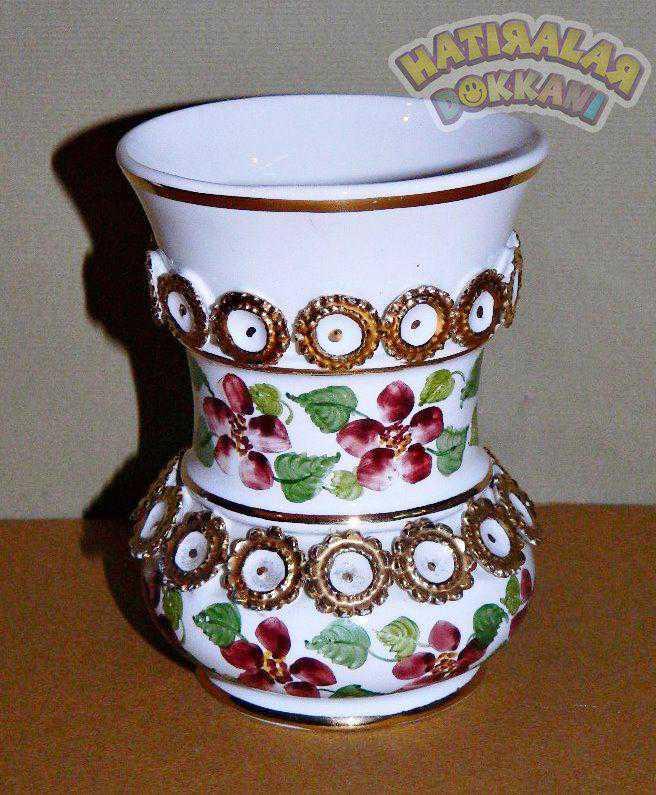 Sümerbank Yildiz Porselen El Boyama çok özel Koleksiyonluk Eski