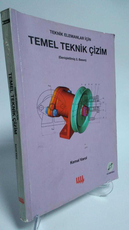 Teknik Elemanlar Için Temel Teknik çizim Genişletilmiş 2 Basım 2