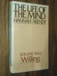 The Life Of The Mind - Willing - Volume Two - Ciltli Hannah Arendt