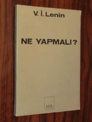 Ne Yapmali V I Lenin Ikinci El Kitap Kitantik 226190110010