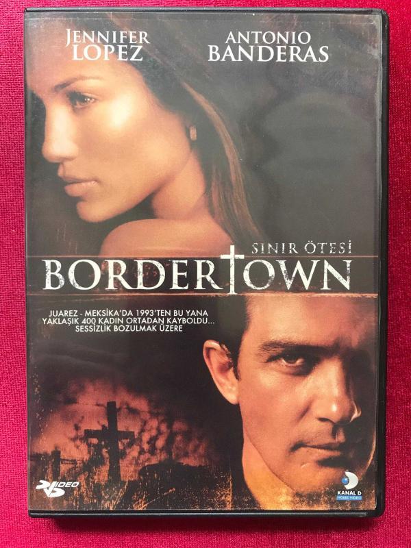 Sınır ötesi Border Town Dvd Film Efemera ürün Kitantik