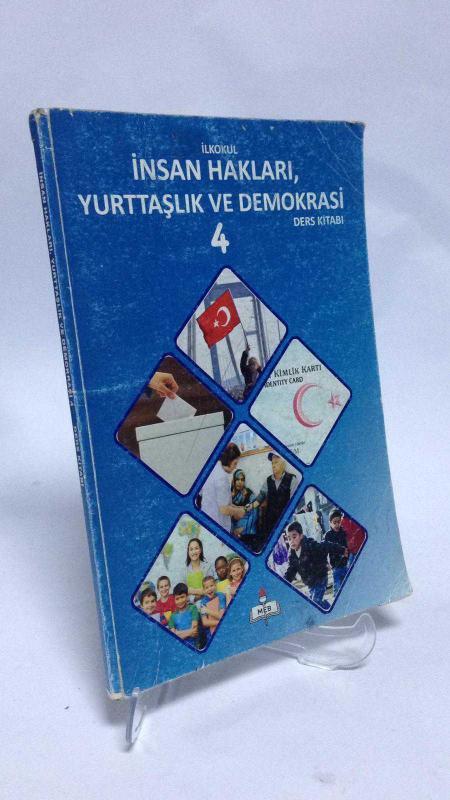 Meb Yayınları Ilkokul 4 Sınıf Insan Hakları Yurttaşlık Ve