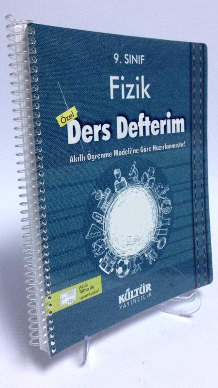 Kültür Yayıncılık 9 Sınıf Fizik Ders Defterim 2 El Komisyon