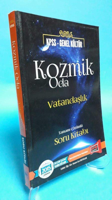Yargı Yayınevi 2015 KPSS Genel Kültür Kozmik Oda Vatandaşlık Tamamı Çözümlü Soru Kitabı
