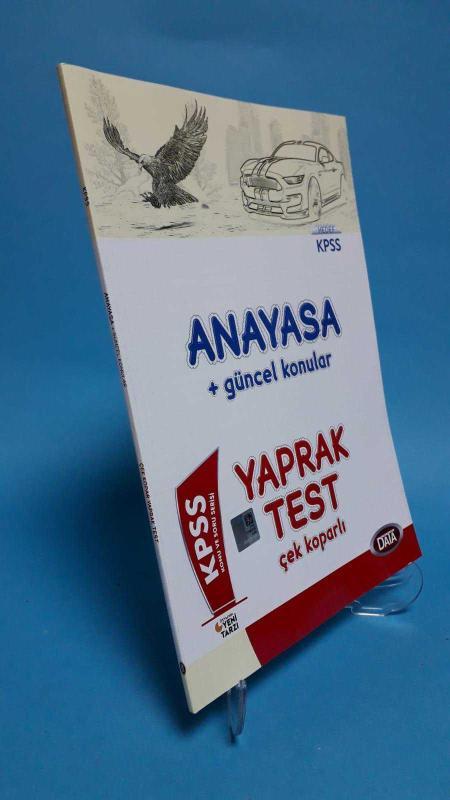 Data Yayınları 2018 KPSS Anayasa + Güncel Konular Hedef KPSS Çek Koparlı Yaprak Test ( 2.El )